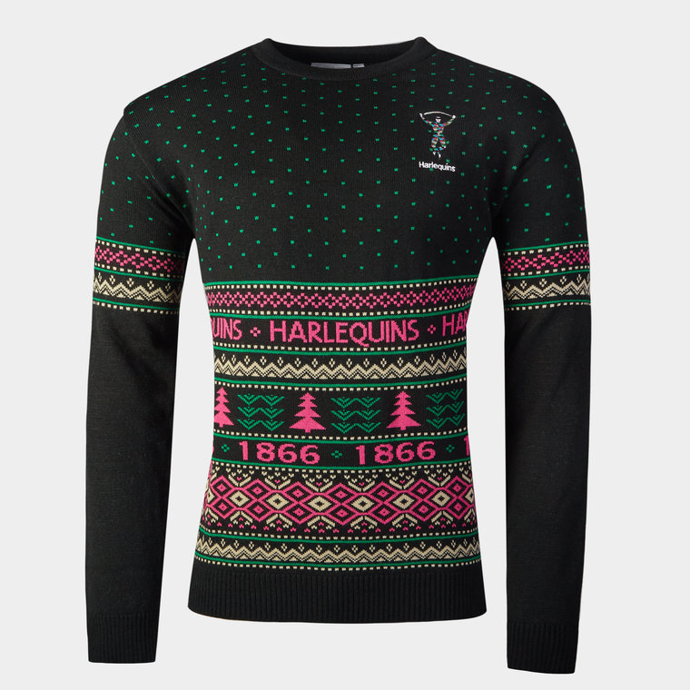 Harelquins Rugby Christmas Jumper